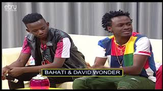 Bahati Confesses He Likes Willy Paul's Old Music Before The Fame