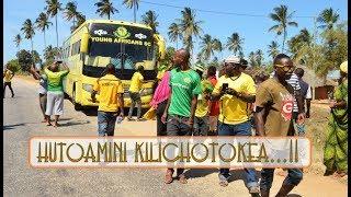 Hutoamini Kilichotokea katika Mapokezi ya Timu ya Yanga Lindi