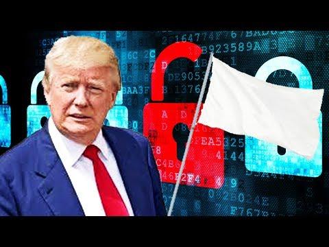 Trump Surrendering Cyber Security