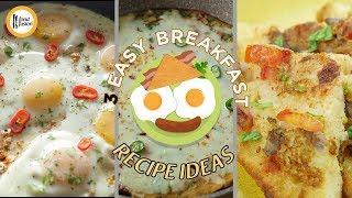 Easy Breakfast Recipe Ideas by Food Fusion