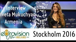 Eurovision Ireland meets Iveta Mukuchyan from Armenia at Eurovision 2016