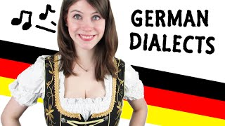 Me speaking in 12 GERMAN DIALECTS!