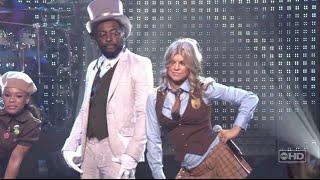Fergie - Fergalicious [live Dick Clark's New Years Rockin Eve 2007] (ft. will.i.am) [HD/HQ]