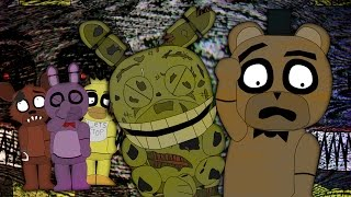 THE FINAL NIGHT 4 - PART 1/2 - 5 Nights at Freddy's (Animated Parody)
