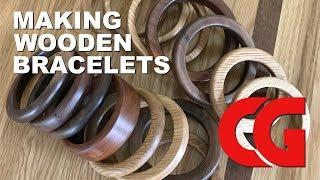 Making Wooden Bracelets