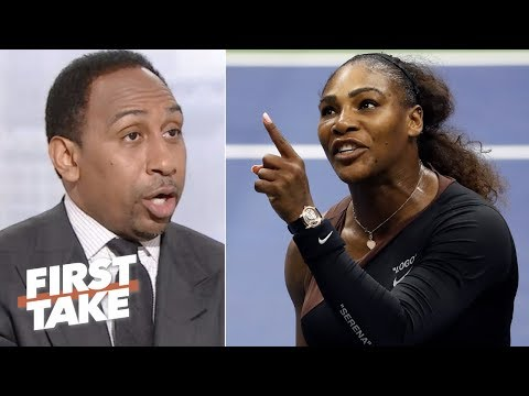 Stephen A. says Serena Williams was wrong for 2018 US Open controversy First Take ESPN