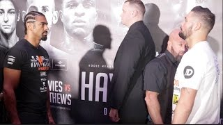 BEST OF ENEMYS! - DAVID HAYE v TONY BELLEW - WITH DAVID HAYE BEING TROLLED BY DERECK CHISORA!!