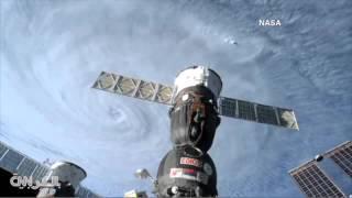 ليس من أفلام الخيال العلمي   مشهد مرعب لإعصار  سوديلور  من الفضاء!