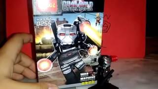 Review lego wer machine civil wer decool