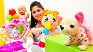#Bebekbakmaoyunu. Gül yürümeye başladı! Loli, Lili, #bebek Gül ve #Smarta top havuzunda!