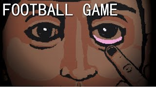 FOOTBALL GAME - LYNCHIAN ADVENTURE GAME ( no football ), Manly Let
