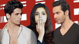Alia Bhatt DUMPS boyfriend Varun Dhawan for Siddharth Malhotra!