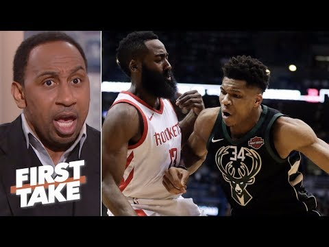 Stephen A. takes James Harden over Giannis Antetokounmpo 'any day of the week' First Take