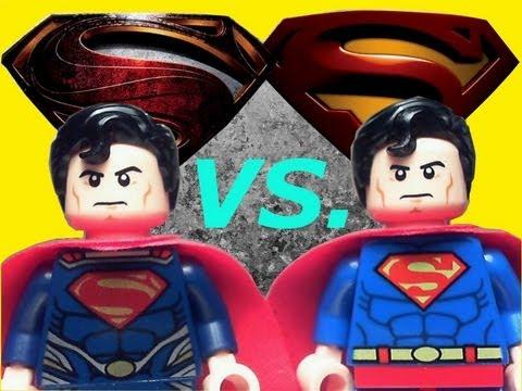 Lego DC Superheroes Superman Man of Steel Vs. Superman