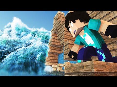 Minecraft UM TSUNAMI 02 O SONHO