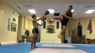 EXTREME TRICKING BODYBUILDING MIXED MARTIAL ARTS MMA FLIPS KICKS - BRIAN LE INSTAGRAM SAMPLER