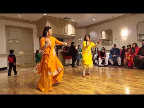Amar & Zehra Mehendi Dance