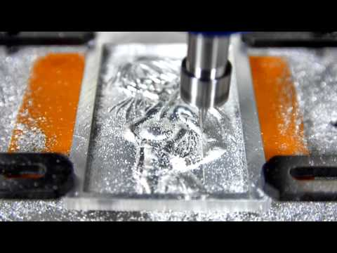 Mobile CNC ROUTER Engraver Machine cut Aluminum 3D Sexy Girl