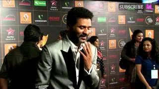 Video   Prabhu Deva   Star Guild Awards Red Carpet 2013