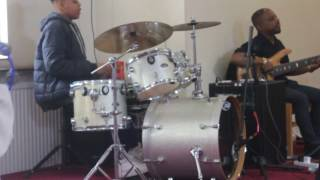 we place you in the highest place (drums)
