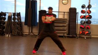 Instructional Cardio Kickboxing Routine 1