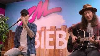 Justin Bieber - What Do You Mean Acoustic Live In New Zealand
