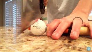 What's inside a Golf Ball?