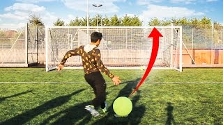 SIDEMEN GIANT TENNIS BALL CROSSBAR CHALLENGE