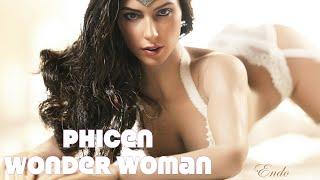 CUSTOM HOT TOYS Phicen Batman V Superman Wonder Woman Figure MMS359