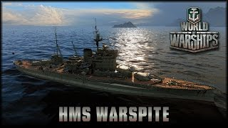 World of Warships - UK: HMS Warspite [ deutsch   gameplay ]