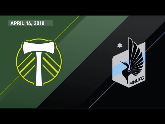 HIGHLIGHTS: Portland Timbers  vs. Minnesota United FC | April 14, 2018