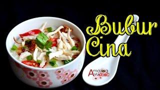 Bubur Cina Resepi