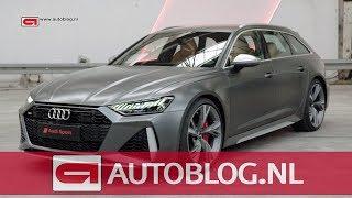 Dit is de nieuwe Audi RS 6 Avant met 600 pk