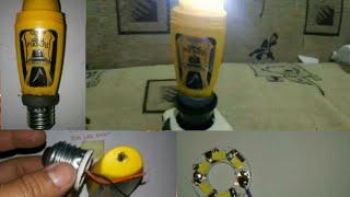 Cara Membuat Lampu LEd Bulb Rexona