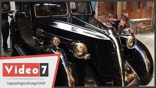 بالفيديو..إعادة تصنيع سيارة انتيكة عمرها 1958 لتتحول آخر الـموديل