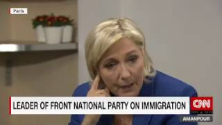 Marine Le Pen has being asked for  reattachment of Crimea with Russia.