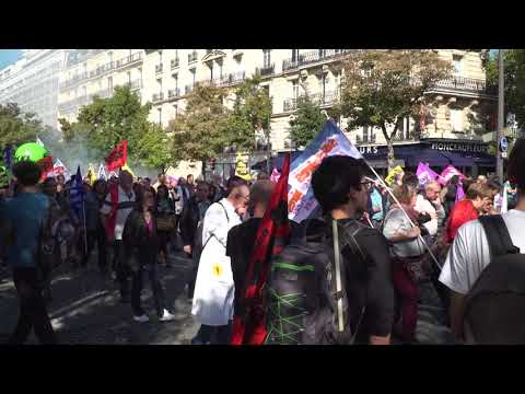 Xxx Mp4 Loi Travail Deuxième Manifestation Et Des Rues Plus Clairsemées 3gp Sex