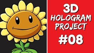 3D Hologram Project - 3D Hologram Project #08
