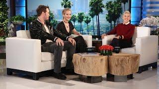 Jennifer Lawrence and Chris Pratt
