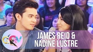 James, Nadine reveal relationship status!