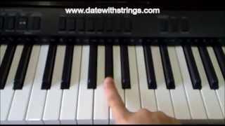 Tum Hi Ho .. 'Aashiqui 2' Basic Piano Tutorial .. !!
