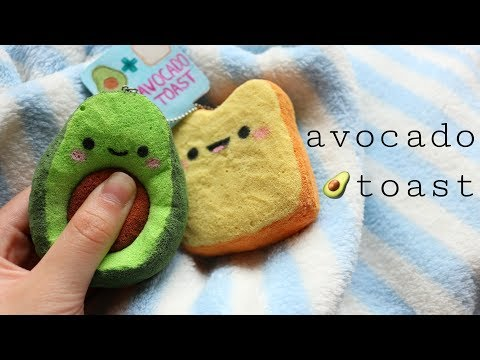 Xxx Mp4 How To Make Squishy Avocado Toast DIY Homemade Squishy Tutorial 3gp Sex