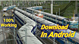 Download MSTS In Mobile In 2 Mins || Hindi Explanation || Then Install It In Ur PC