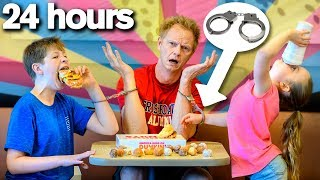 Handcuffed to My Kids for 24 HOURS *bad idea*