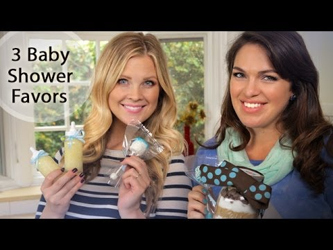 3 Baby Shower Favors