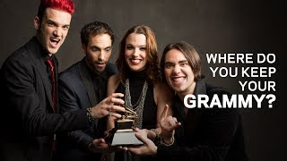 Where Do You Keep Your GRAMMY | Lzzy Hale Of Halestorm