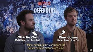 Charlie Cox y Finn Jones nos cuentan que trae The Defenders!