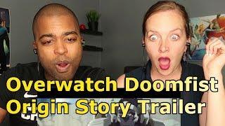 Overwatch - Doomfist Origin Story Trailer (REACTION 🔥)