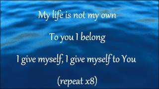 I give myself away and Here I am to worship w/ lyrics - William McDowell