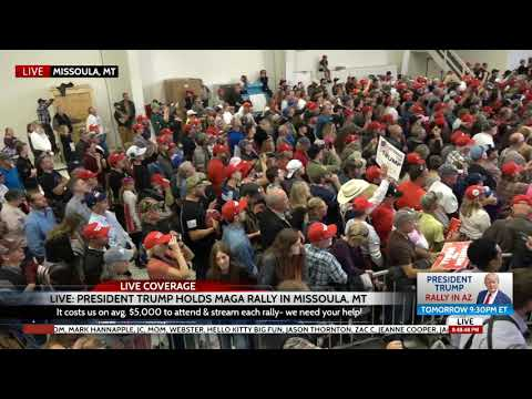 Xxx Mp4 HUGE Crowd At President Trump Rally In Missoula MT 10 18 18 3gp Sex